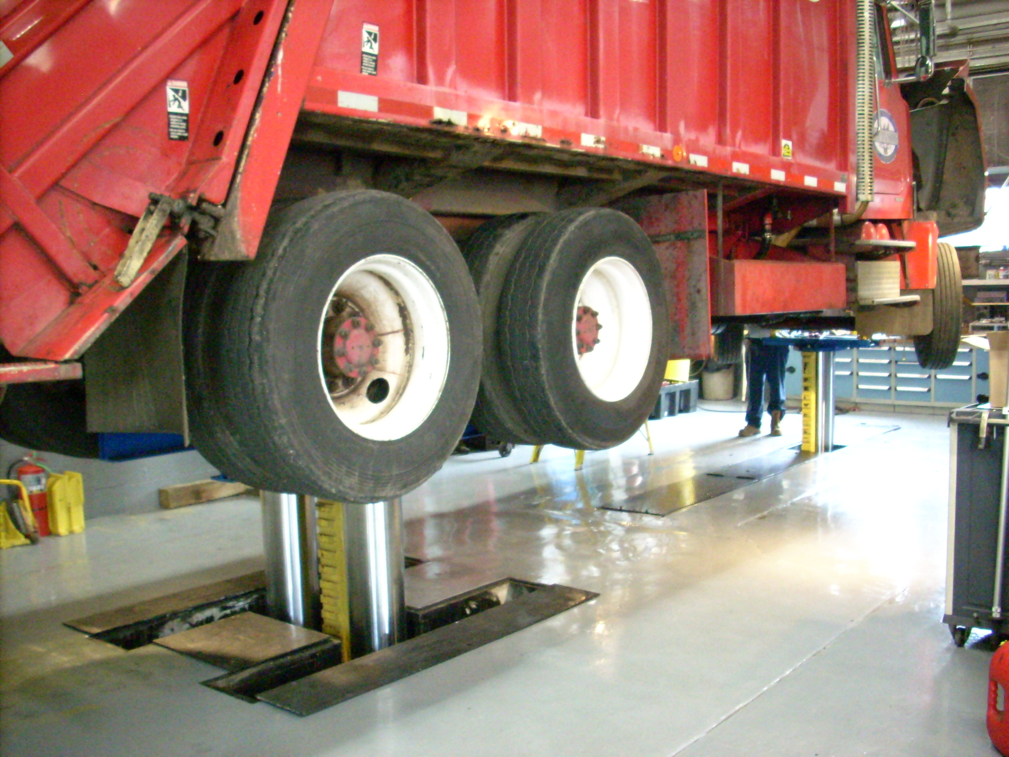 Legacy Auto Sales >> Hoffman Services Installs Inground Lift for Fleet of ...