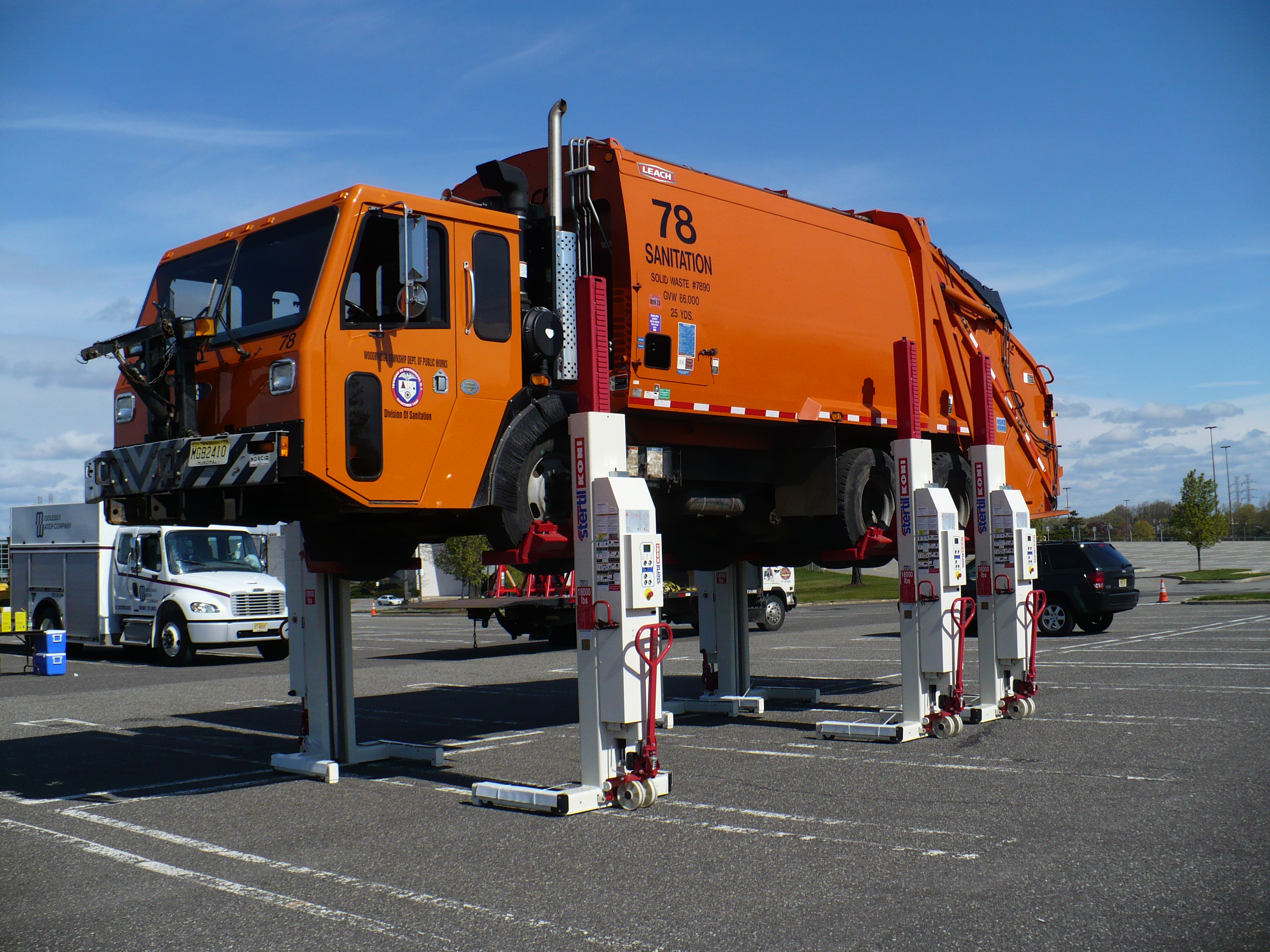Hoffman services at big wheels day in woodbridge heavy lift news these publicscrutiny Images
