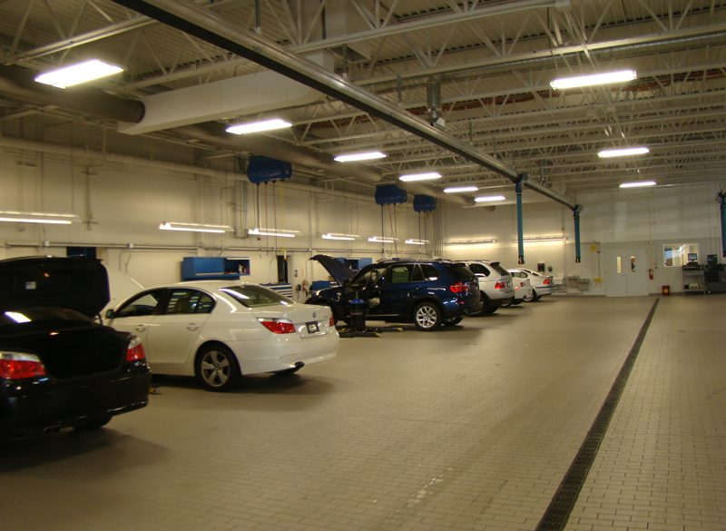 Inside Faulker BMW