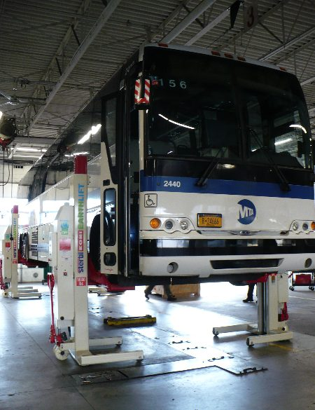Heavy Duty Bus Lift