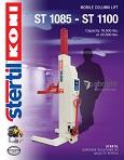 Stertil Koni St1085 St1100 Heavy Duty Vehicle Lift Company