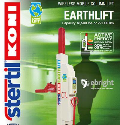 Heavy Duty Mobile Column Lift Earthlift Hoffman Services