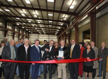 Stertil-Koni Ribbon Cutting