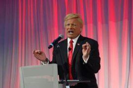 Trump Impersonator at SEMA 2016