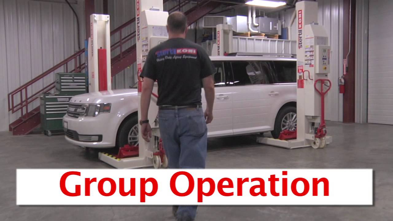 Wireless Mobile Lift Operation Video