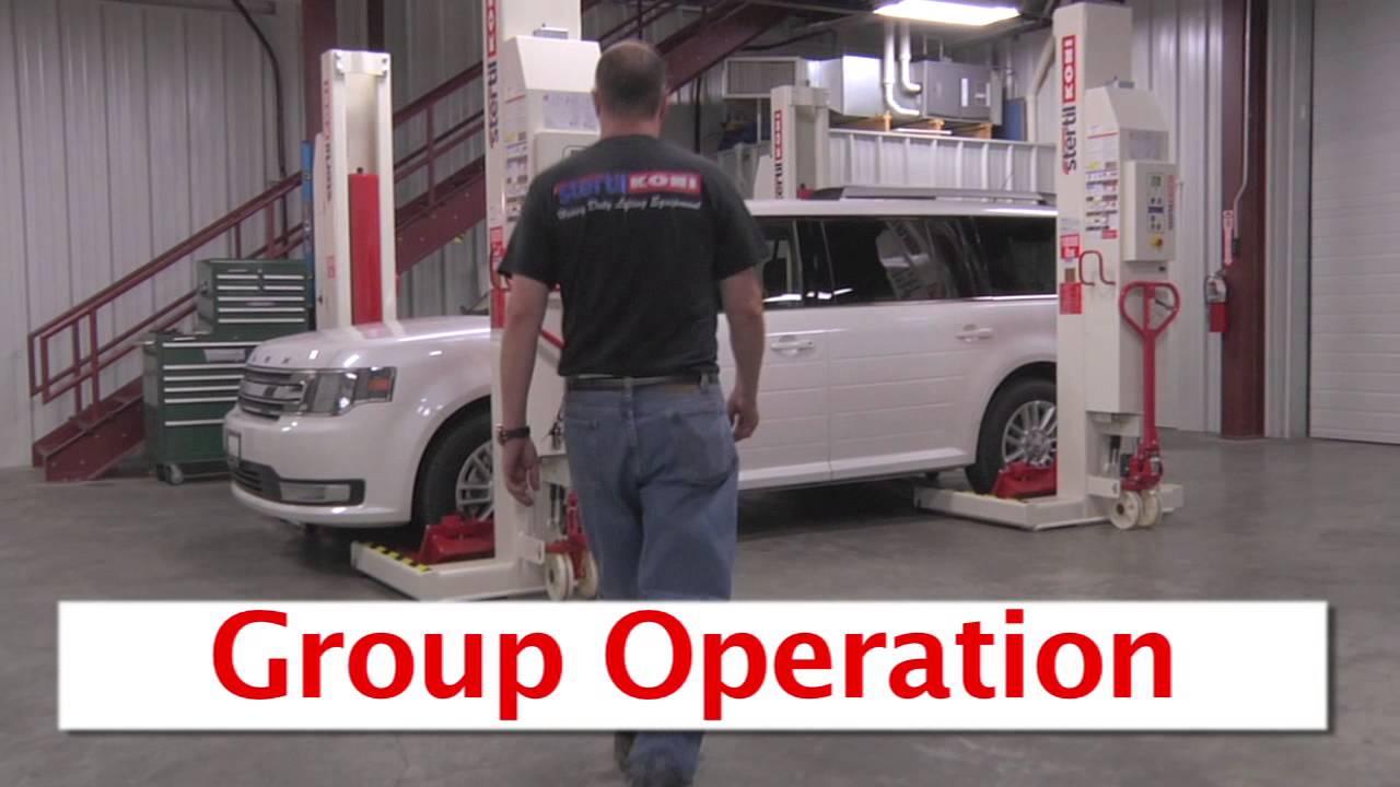 Wireless Mobile Lift Operation Video