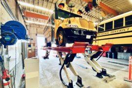 heavy duty lift EV buses